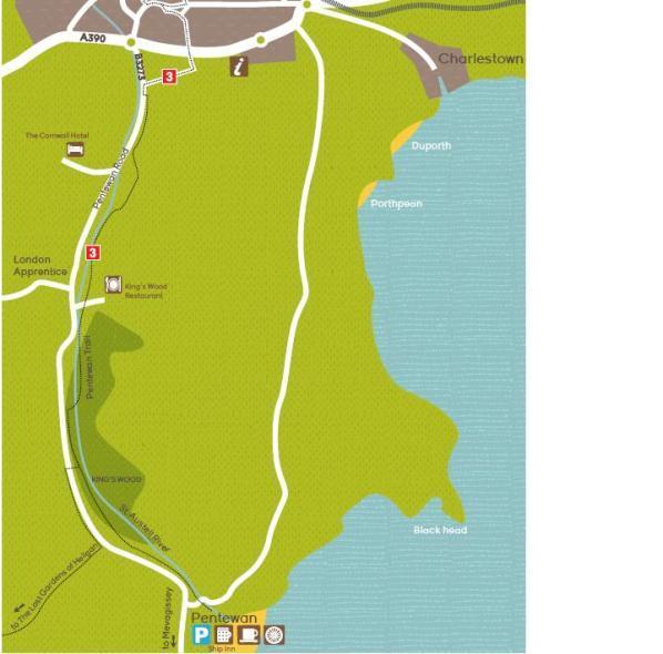 Pentewan to St Austell trail